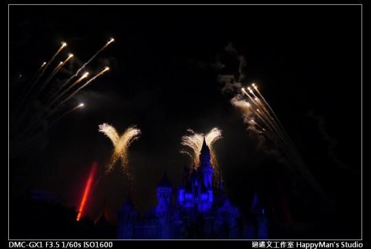 香港迪士尼煙火 (12)