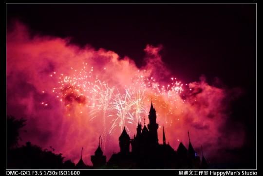 香港迪士尼煙火 (17)