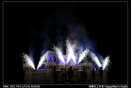 香港迪士尼煙火 (2)