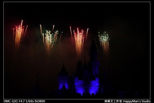 香港迪士尼煙火 (20)