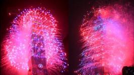 2013 101 跨年煙火 taiwan taipei 101 fireworks show (10)