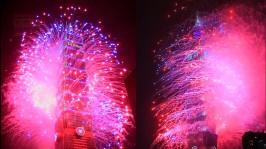 2013 101 跨年煙火 taiwan taipei 101 fireworks show (11)