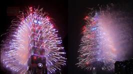2013 101 跨年煙火 taiwan taipei 101 fireworks show (17)