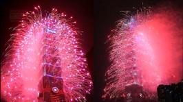 2013 101 跨年煙火 taiwan taipei 101 fireworks show (19)