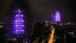 2013 101 跨年煙火 taiwan taipei 101 fireworks show (2)
