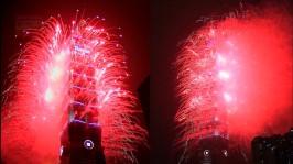 2013 101 跨年煙火 taiwan taipei 101 fireworks show (20)