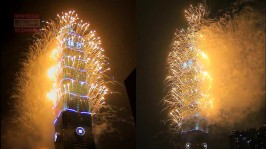 2013 101 跨年煙火 taiwan taipei 101 fireworks show (29)
