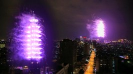 2013 101 跨年煙火 taiwan taipei 101 fireworks show (3)