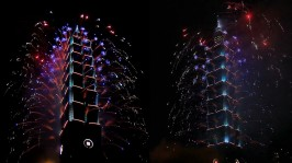 2013 101 跨年煙火 taiwan taipei 101 fireworks show (6)