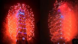 2013 101 跨年煙火 taiwan taipei 101 fireworks show (8)