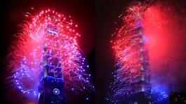2013 101 跨年煙火 taiwan taipei 101 fireworks show (9)