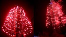 2013 101 跨年煙火 taiwan taipei 101 fireworks show
