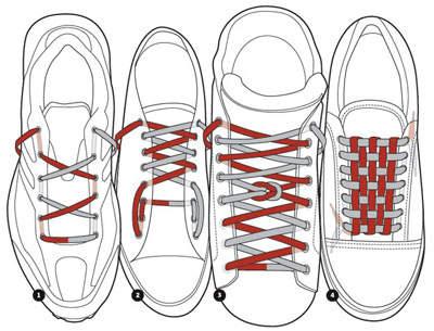 綁鞋帶圖解