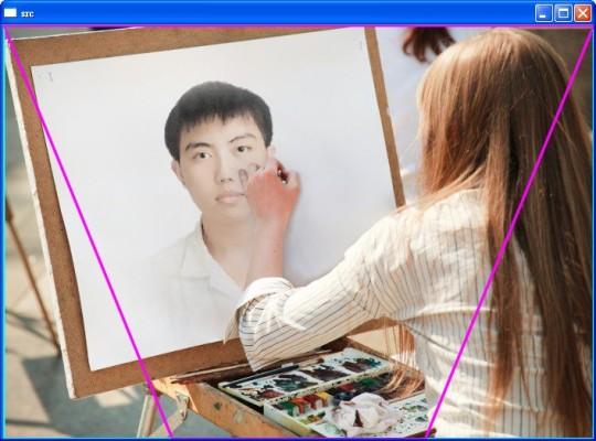 透視變換 Perspective Transform