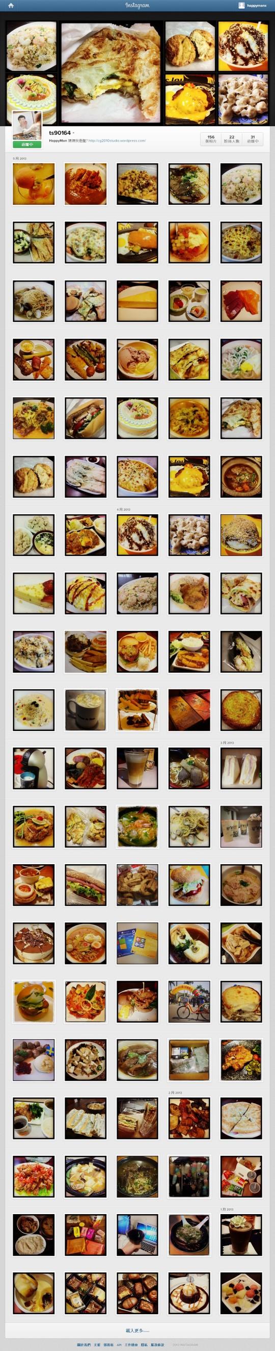 Instagram Photo Wall
