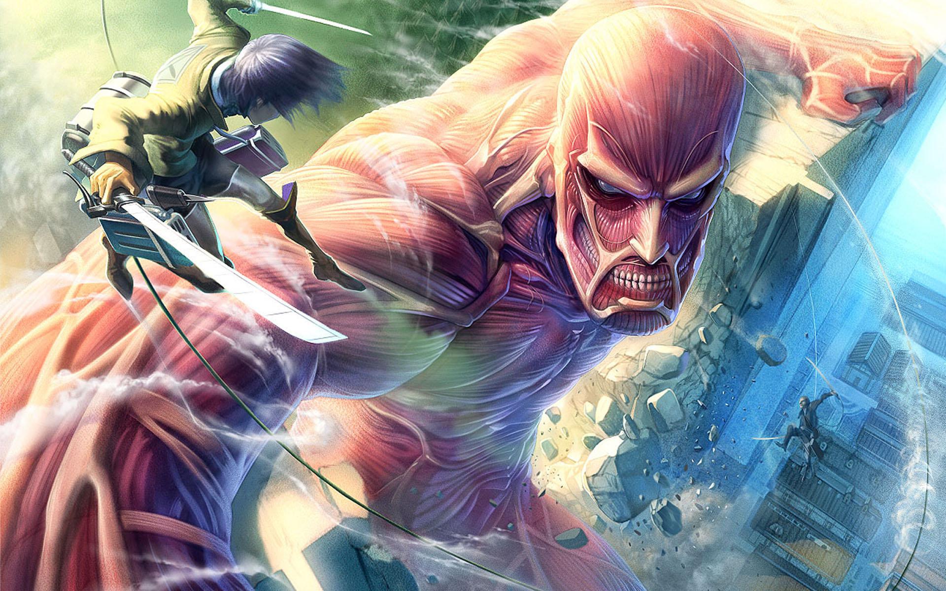 進擊的巨人 attack on titan