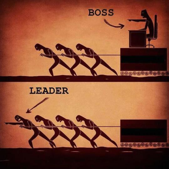 老闆與領袖 (Boss and Leader)