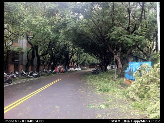 被蘇力颱風掃過的校園 (22)