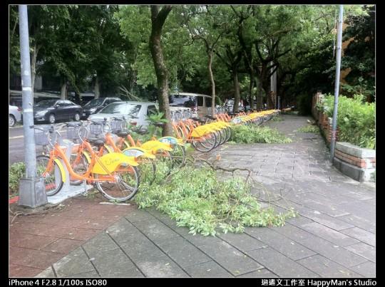 被蘇力颱風掃過的校園 (28)