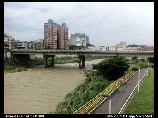 被蘇力颱風掃過的福和河堤 (20)