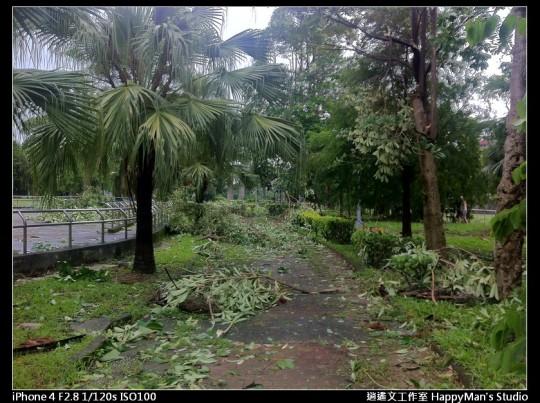 被蘇力颱風掃過的福和河堤 (28)