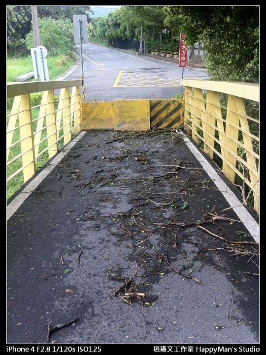 被蘇力颱風掃過的福和河堤 (32)