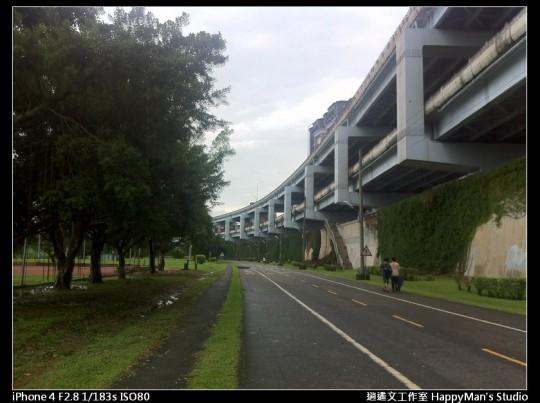 被蘇力颱風掃過的福和河堤 (35)