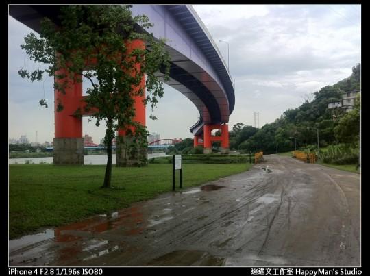 被蘇力颱風掃過的福和河堤 (39)