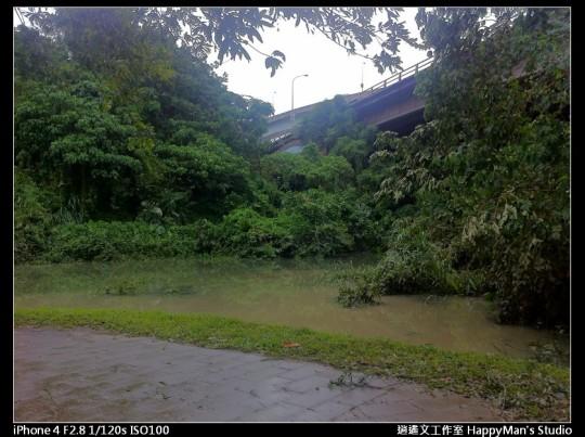 被蘇力颱風掃過的福和河堤 (42)