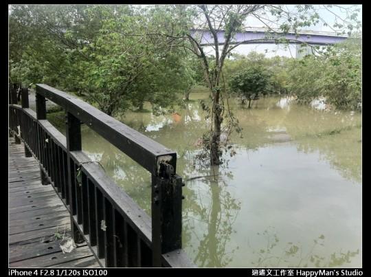 被蘇力颱風掃過的福和河堤 (45)