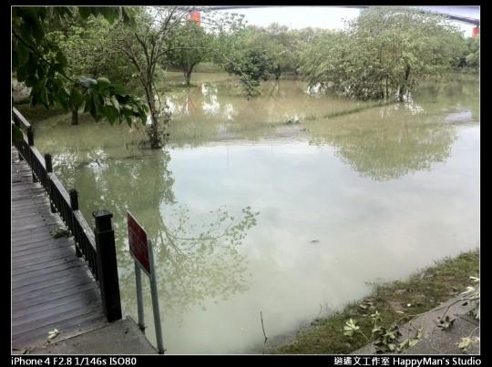 被蘇力颱風掃過的福和河堤 (46)