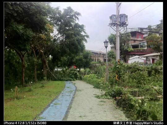 被蘇力颱風掃過的福和河堤 (53)