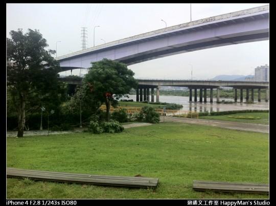 被蘇力颱風掃過的福和河堤 (55)