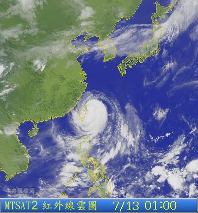 s1p-2013-07-13-01-00 蘇力颱風衛星雲圖
