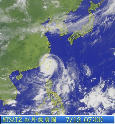 s1p-2013-07-13-07-00 蘇力颱風衛星雲圖