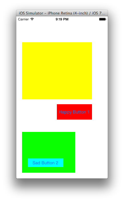 [iOS] 視圖坐標系轉換2