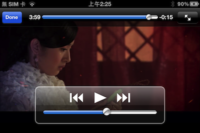iOS 播放Youtube影片2