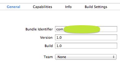 IAP bundle identifier