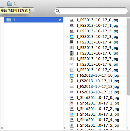 iOS 列出資料夾裡的檔案名稱 List Contents of Directory