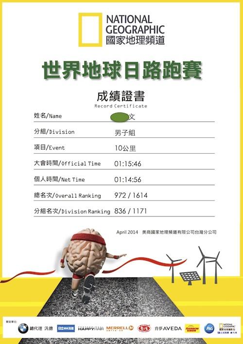 20140419-1011路跑成績