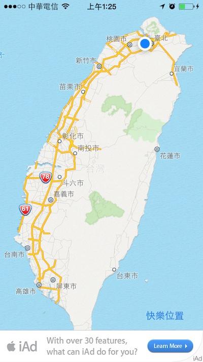 mapkit location