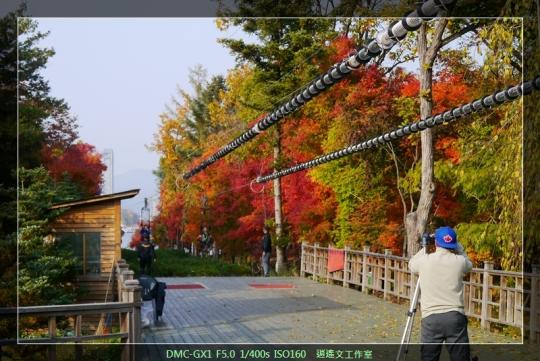 韓國首爾 在南怡島空中滑翔 (13)