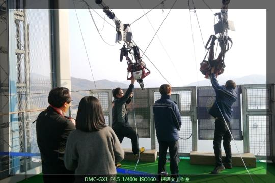 韓國首爾 在南怡島空中滑翔 (5)