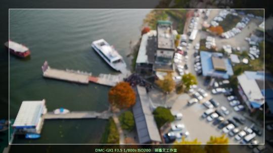 韓國首爾 在南怡島空中滑翔 (6)