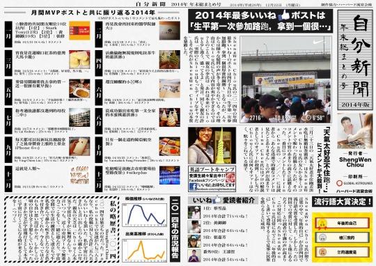 2014自分新聞(日)