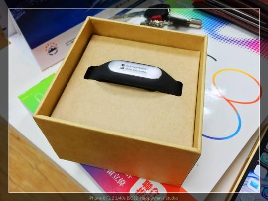 開箱 小米手環 Smart Bracelet02