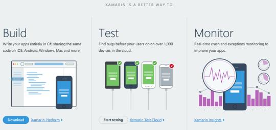 Xamarin feature