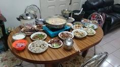 2015年除夕夜年夜飯00011