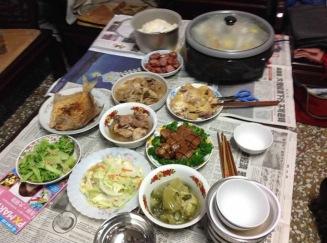 2015年除夕夜年夜飯00018