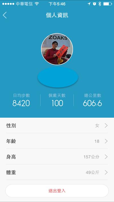小米手環100天紀錄